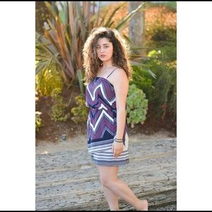 Express Tribal Mini Dress